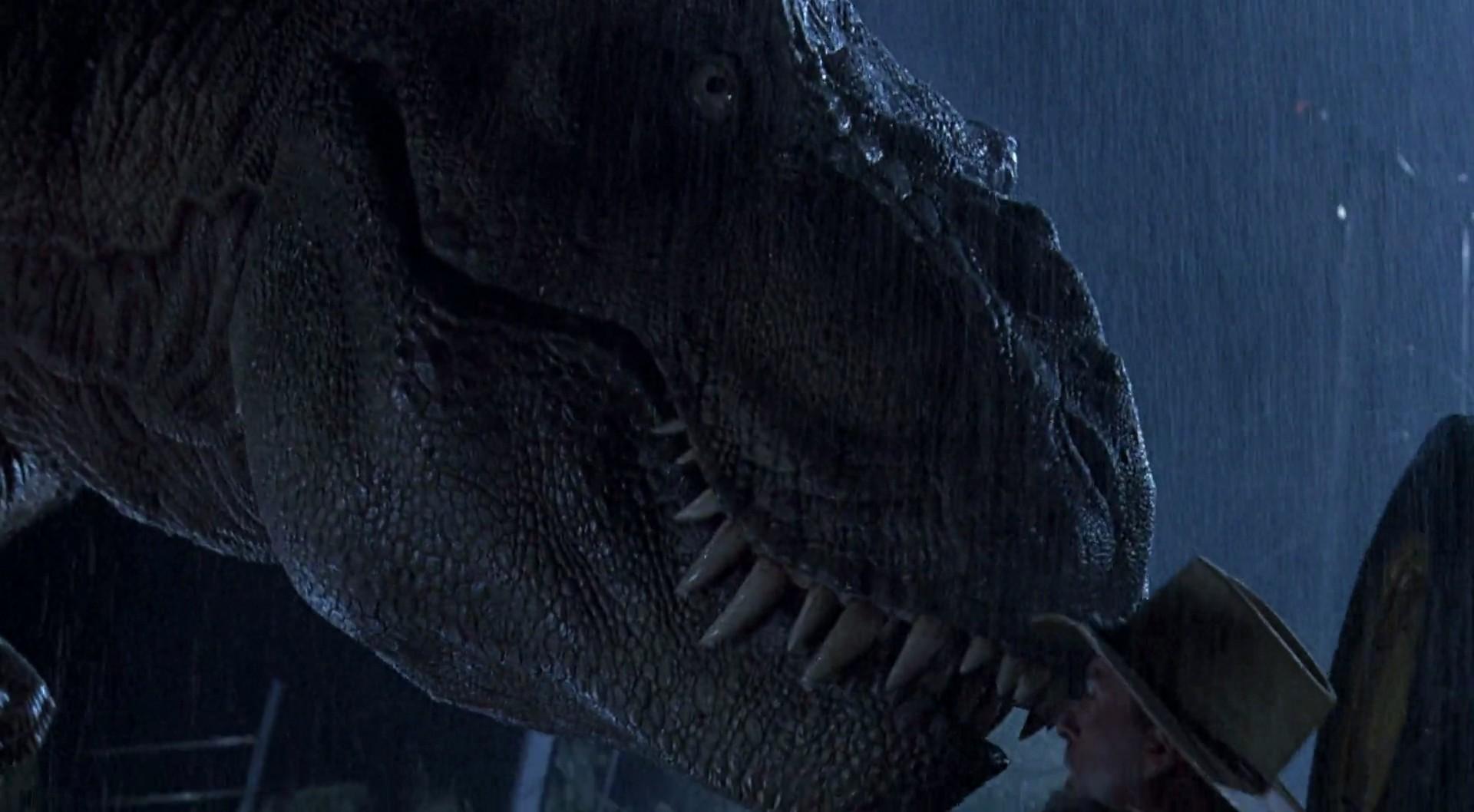 how big is jurassic park t rex